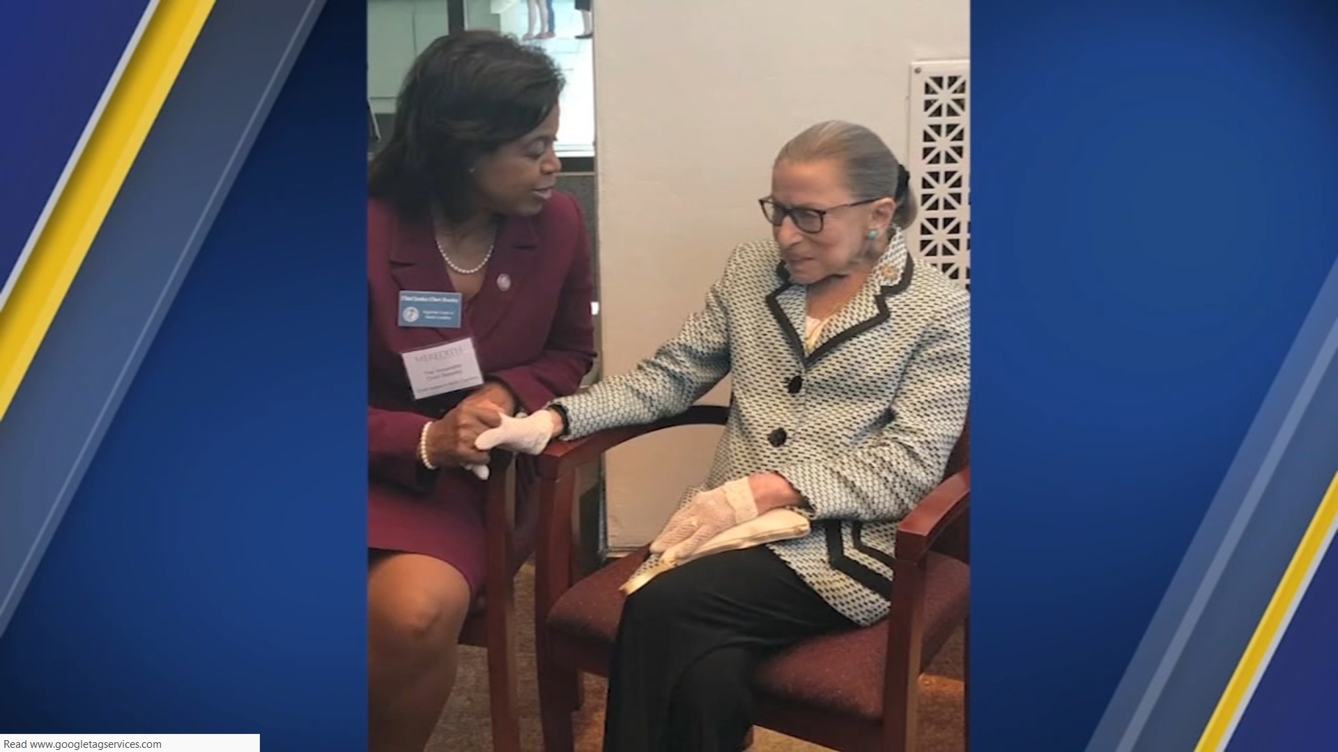 'Her personhood transcended the Supreme Court': NC Chief Justice reflects on Justice Ruth Bader Ginsburg's legacy